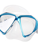 baratos Vestidos de Mulher-TUO Máscara de Snorkel / Máscara de Mergulho Anti Neblina Visor Duplo - Natação, Mergulho Borracha Silicone - para Adulto Amarelo /