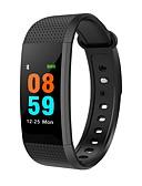 olcso Divatórák-Intelligens karkötő I9 mert iOS / Android Szívritmus monitorizálás / Vérnyomásmérés / Elégetett kalória / Lépésszámlálók / Információ Lépésszámláló / Hívás emlékeztető / Testmozgásfigyelő / Alvás