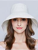 رخيصةأون قبعات نسائية-قبعة مرنة / قبعة شمسية سادة بوليستر للمرأة