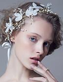 Χαμηλού Κόστους Γαμήλιες Εσάρπες-Κράμα Κεφαλές / Τεμάχια Κεφαλής με Ψεύτικο Μαργαριτάρι 1pc Γάμου / Πάρτι / Βράδυ Headpiece