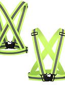 hesapli Elbise Saat-Yansıtıcı Koşu Yeleği Portatif / Hafif Diğer için Bisiklete biniciliği / Koşma