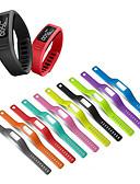 זול להקות Smartwatch-רצועת שעון סיליקון להחלפת רצועת שורש כף יד לחגורת צמיד garmin vivofit 1 / vofofit 2