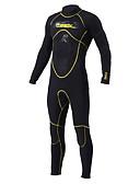 baratos Roupas de Mergulho & Camisas de Proteção-SLINX Homens Macacão de Mergulho Longo 5mm Neoprene Roupas de Mergulho Manga Longa Zip posteriore - Mergulho / Surfe / Snorkeling Sólido