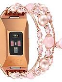 halpa Smartwatch-nauhat-Watch Band varten Fitbit ionic Fitbit Korudesign Metalli Rannehihna
