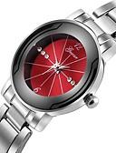 preiswerte Luxusuhren-Herrn Kleideruhr Chinesisch Chronograph / Kreativ / Großes Ziffernblatt Edelstahl Band Luxus Silber / SSUO LR626