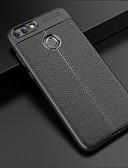 povoljno Maske za mobitele-Θήκη Za Huawei P smart Reljefni uzorak Stražnja maska Jednobojni Mekano TPU