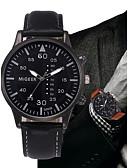ieftine Oțel Inoxidabil-Bărbați Ceas de Mână Quartz Cronograf Piele Bandă Analog Modă minimalist Negru / Albastru / Maro - Negru Maro Albastru Un an Durată de Viaţă Baterie / SSUO LR626
