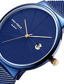 cheap Sport Watches-MINI FOCUS Men's Wrist Watch Calendar / date / day / Casual Watch / Cool Stainless Steel Band Luxury / Minimalist Black / Blue / Silver