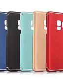 hesapli Nedime Elbiseleri-Pouzdro Uyumluluk Samsung Galaxy S9 Plus / S9 Buzlu Arka Kapak Solid Sert PC için S9 / S9 Plus / S8 Plus