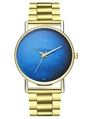 cheap Men's Polos-Men's / Women's Fashion Watch Chinese Chronograph Stainless Steel Band Fashion Gold