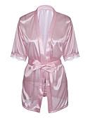 ieftine Lenjerie la Modă-Pentru femei Babydoll & Slip Pijamale - Dantelă, Mată