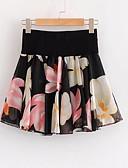 cheap Women's Pants-Women's Active Mini A Line Skirts - Floral Print / Summer / Floral Patterns
