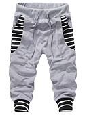 ieftine Pantaloni Bărbați si Pantaloni Scurți-Bărbați Șic Stradă / Punk & Gotic Bumbac Larg Pantaloni Scurți Pantaloni Dungi