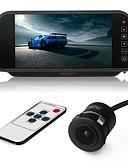 halpa Pluskokoiset mekot-ziqiao 7 tuuman väri TFT lcd-auto taustapeili-näyttö ja ccd hd vedenpitävä auto takana katsottuna kamerana