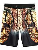 זול חולצות לגברים-בגדי ריקוד גברים משוחרר שורטים מכנסיים אחיד / חוף