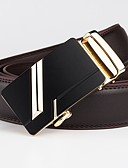 cheap Men's Belt-Men's Basic Waist Belt - Solid Colored / Geometric