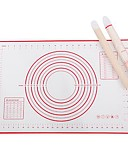 olcso Műkorcsolya ruha-Sütés Mats & hüvelyek 1db Szilikon gél Szabadtéri mert Piros / Több funkciós