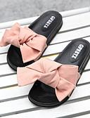 cheap Smartwatches-Women's Slippers Slide Slippers Ordinary / Geometric Pattern Nubuck leather Bowknot