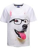 preiswerte Damen Pullover-Herrn Gestreift / Geometrisch - Aktiv / Street Schick T-shirt Druck