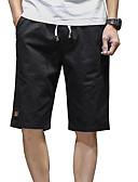 זול מכנסיים ושורטים לגברים-בגדי ריקוד גברים סגנון רחוב שורטים מכנסיים אחיד