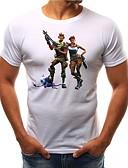 povoljno Muške majice i potkošulje-Majica s rukavima Muškarci Dnevno Portret Print