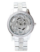 cheap Quartz Watches-Women's Dress Watch Japanese Chronograph / Creative Stainless Steel Band Elegant Silver