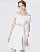 povoljno Ženske haljine-Žene Izlasci Slim Korice Haljina Duboki V Do koljena Visoki struk