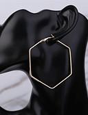 olcso Menyasszonyi ruhák-Női Francia kapcsos fülbevalók - Zvijezda Klasszikus, Alap Arany Kompatibilitás Napi Szabadság
