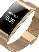 abordables Cinturones a la Moda-Pulsera inteligente A66 para iOS / Android Impermeable / Medición de la Presión Sanguínea / Calorías Quemadas / Pantalla Táctil / Bonito Podómetro / Recordatorio de Llamadas / Seguimiento de
