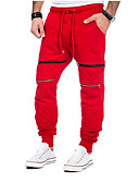 זול מכנסיים ושורטים לגברים-בגדי ריקוד גברים Military צ'ינו מכנסיים קולור בלוק