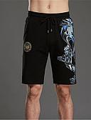 abordables Pantalones y Shorts de Hombre-Hombre Básico Shorts Pantalones - Un Color