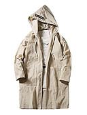 tanie Bluzka-Puszysta Bluzka Damskie Vintage, Frędzel Bawełna Solidne kolory Bufka Czarno-biały