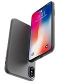 זול מגנים לאייפון-מגן עבור Apple iPhone X / iPhone 8 Plus / iPhone 8 מזוגג כיסוי אחורי אחיד קשיח PC