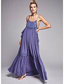 رخيصةأون فساتين للنساء-فستان نسائي متموج طويل للأرض فضفاض مع حمالة شاطئ