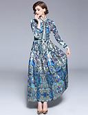 cheap Women's Dresses-SHIHUATANG Women's Boho / Street chic Swing Dress - Floral / Paisley Print
