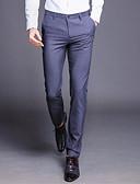 ieftine Pantaloni Bărbați si Pantaloni Scurți-Bărbați De Bază Mărime Plus Size Costume Pantaloni Mată