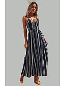 baratos Vestidos de Mulher-Mulheres Praia Delgado balanço Vestido Com Alças Longo