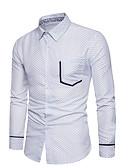 povoljno Muške košulje-Majica Muškarci Dnevno Na točkice