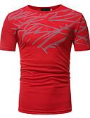 ieftine Maieu & Tricouri Bărbați-Bărbați Tricou De Bază - Floral