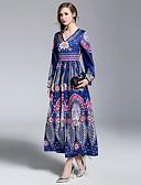 cheap Women's Dresses-SHIHUATANG Women's Boho / Street chic Swing Dress - Floral Print