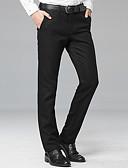 ieftine Pantaloni Bărbați si Pantaloni Scurți-Bărbați Mărime Plus Size Zvelt Pantaloni Chinos Pantaloni Mată