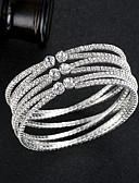 preiswerte Brautmutter Kleider-Damen Armreife / Manschetten-Armbänder - Europäisch, Modisch Armbänder Silber / Rotgold Für Hochzeit / Alltag