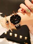 ieftine Quartz-Pentru femei Ceas Elegant Ceas de Mână Quartz 30 m Model nou Ceas Casual Adorabil Piele Bandă Analog Casual Modă Negru / Maro / Verde - Rosu Verde Roz Un an Durată de Viaţă Baterie / Oțel inoxidabil