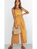 cheap Women's Dresses-Dreamy Land women's going out / work jumpsuit - polka dot wide leg strap