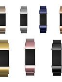 זול להקות Smartwatch-צפו בנד ל Fitbit Charge 2 פיטביט לולאה בסגנון מילאנו מתכת אל חלד רצועת יד לספורט