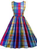 זול טישרט-מעל הברך שמלה נדן ליציאה בגדי ריקוד נשים