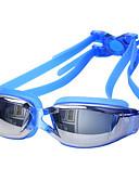 baratos Roupas Íntimas e Meias Masculinas-Óculos de Natação Prova-de-Água / Anti-Nevoeiro / Proteção UV Lega Cobertura / PC Branco / Vermelho / Cinzento