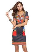 povoljno Ženske haljine-Žene Korice Haljina V izrez Iznad koljena