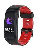 preiswerte Accessoires-Smart-Armband NO.1 F4 für Android iOS Bluetooth Wasserfest Blutdruck Messung Touchscreen Verbrannte Kalorien Langes Standby Schrittzähler Anruferinnerung AktivitätenTracker Schlaf-Tracker / Wecker