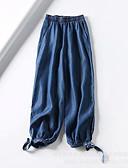 ieftine Pantaloni Bărbați si Pantaloni Scurți-Bărbați Mărime Plus Size Bumbac / In Harem Pantaloni Mată